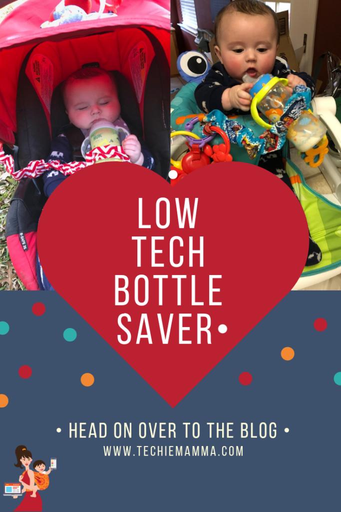 Bottle Leash Mommy Hack Pin