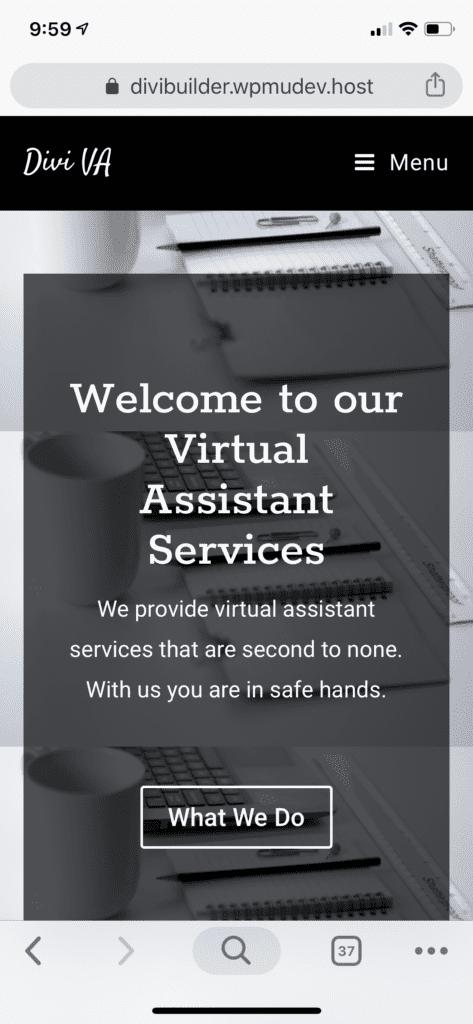 Divi VA Website