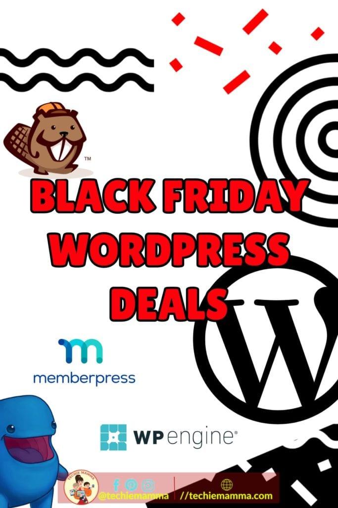 Black Friday Best Tech Deals Pin
