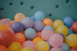 Photo of ball pit balls