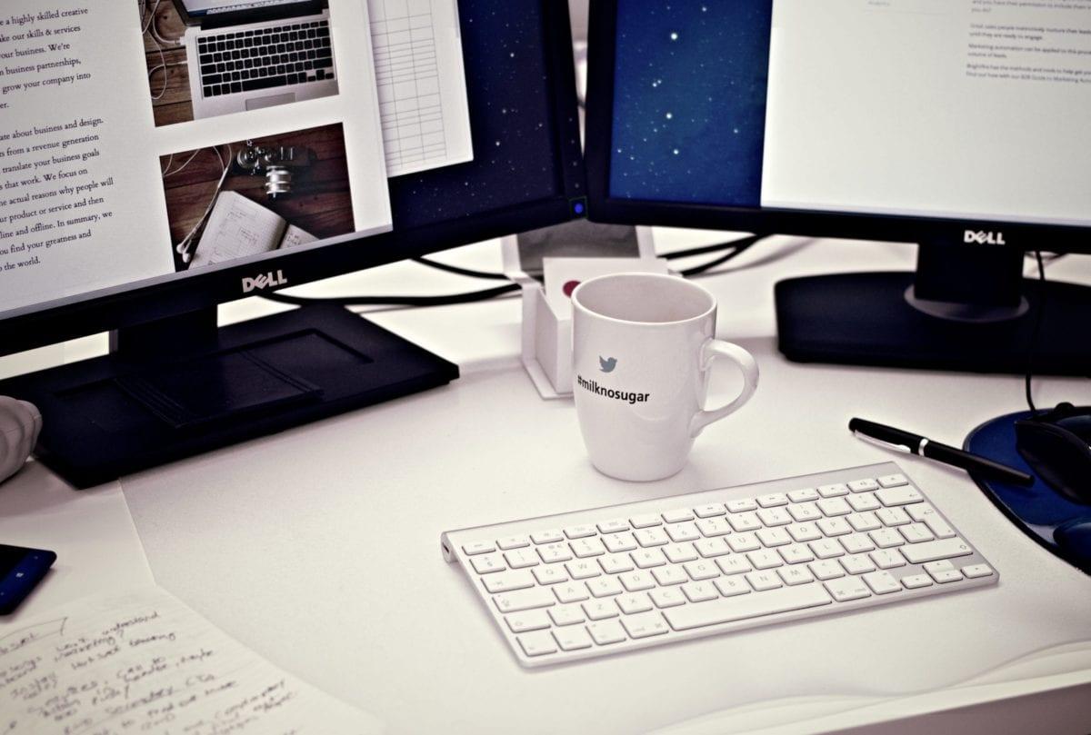Blog blogger blogging cup