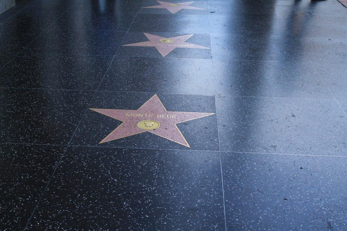 walk of fame, hollywood, stars