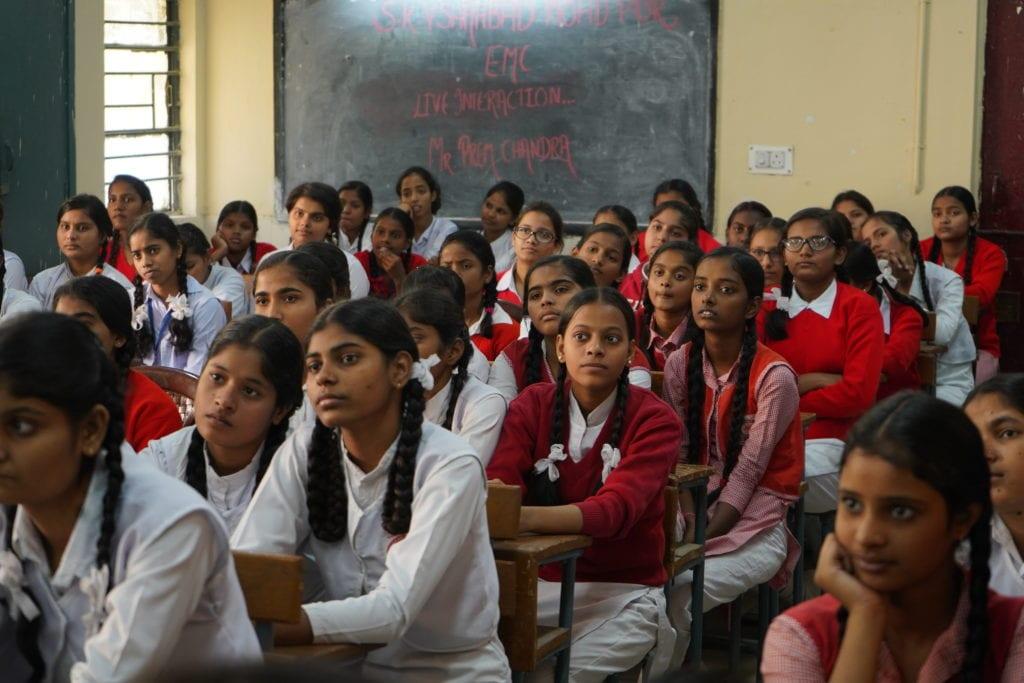 Man people woman school